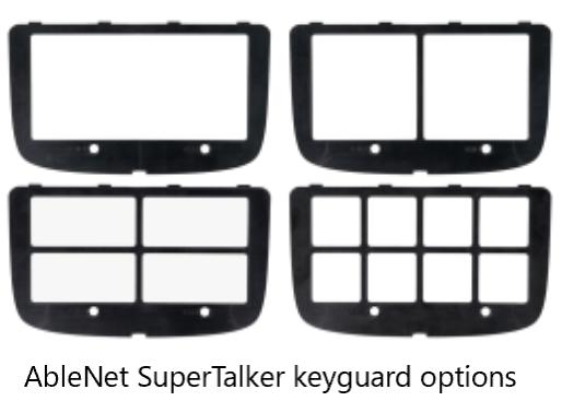 ablenet supertalker keyguard