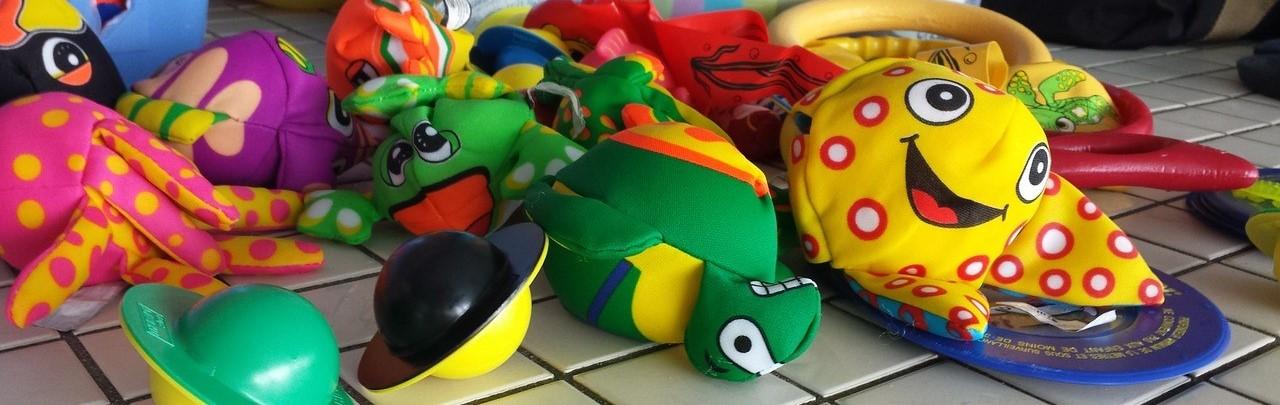 colourful toys