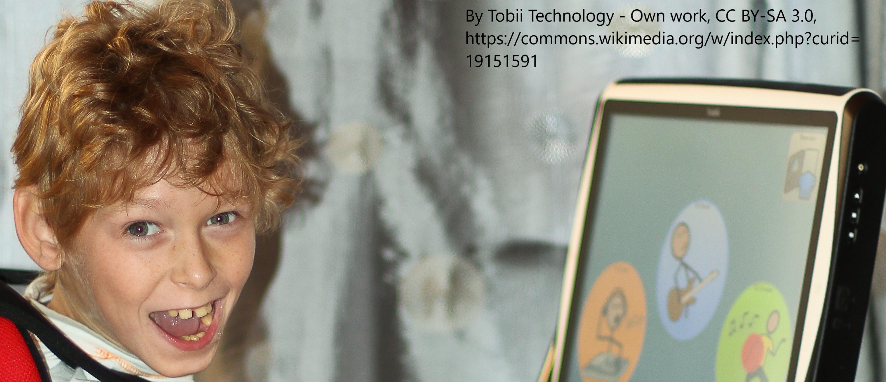 Ulrich using Tobii eye gaze
