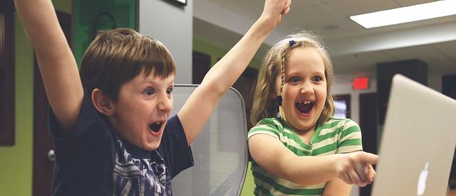 two children success